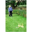 BEX Ring Toss Garden Game - Rubber Wood