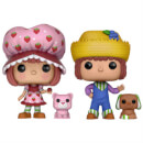 Strawberry Shortcake & Huckleberry Pie EXC Pop! Vinyl Figure 2-pack