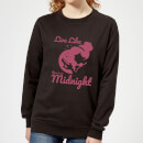 Disney Princess Midnight Women's Sweatshirt - Black