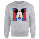 Disney Mickey Mouse M-Face Sweatshirt - Grey