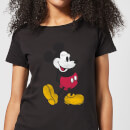 Disney Mickey Mouse Classic Kick Frauen T-Shirt - Schwarz