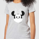 Disney Mickey Mouse Minnie Mouse Mirror Ilusion Women's T-Shirt - Grey