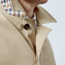 Aquascutum Men's Berkeley SB Raincoat - Camel