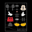 Disney Mickey Mouse Construction Kit T-Shirt - Black
