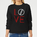 Love Geo Women's Sweatshirt - Black