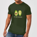 Lets Make Guacamole T-Shirt - Forest Green