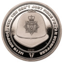 Hot Fuzz Collector's Limited Edition Coin: Silver Variant – Zavvi Exclusive