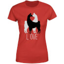Llove Women's T-Shirt - Red