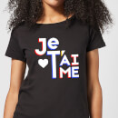 Je T'aime Women's T-Shirt - Black