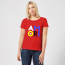 Amor Women's T-Shirt - Red