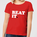 Beat It Women's T-Shirt - Red
