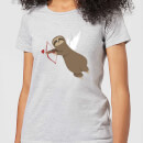 Sloth Cupid Women's T-Shirt - Grey