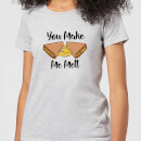 You Make Me Melt Women's T-Shirt - Grey
