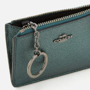 Coach Women's Mini Id Skinny Wallet - Metallic Ivy