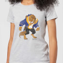 Disney Beauty And The Beast Classic Women's T-Shirt - Grey