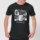 Life Is Like A Camera T-Shirt - Black
