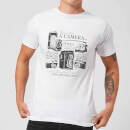 Life Is Like A Camera T-Shirt - White