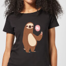 Sloth Hi Women's T-Shirt - Black