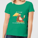 Am I Too Slow? Women's T-Shirt - Kelly Green