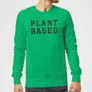 Plant Based Sweatshirt - Kelly Green