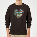 You Will Find Me In The Library Sweatshirt - Black