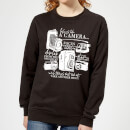 Life Is Like A Camera Women's Sweatshirt - Black