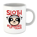 Sloth Running Team Mug