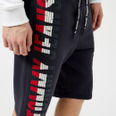 Tommy Jeans Men's Graphic Basketball Shorts - Black Iris