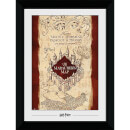 Harry Potter Marauders Map Collector's 50 x 70cm Framed Photograph