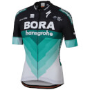 Sportful Bora Hansgrohe BodyFit Team Jersey - Black/Green
