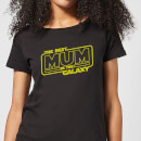 Best Mum In The Galaxy Women's T-Shirt - Black