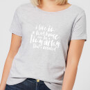 I Live In A Mad House Women's T-Shirt - Grey