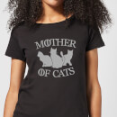 Mother Of Cats Black Women's T-Shirt - Black