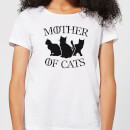 Mother Of Cats White Women's T-Shirt - White