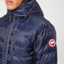 Canada Goose Men's Lodge Hoody Jacket - Blue/Black
