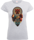 Black Panther Totem Women's T-Shirt - Grey