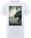 Black Panther Poster T-Shirt - White