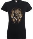 Black Panther Gold Erik Women's T-Shirt - Black