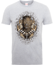 Black Panther Gold Erik T-Shirt - Grey