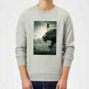 Black Panther Poster Sweatshirt - Grey