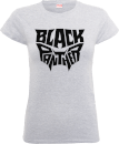 Black Panther Emblem Women's T-Shirt - Grey