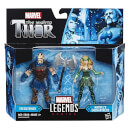 Marvel Legends The Mighty Thor Action Figure Pack - Executioner and Marvel's Enchantress