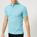 Polo Ralph Lauren Men's Slim Fit Basic Mesh Polo Shirt - Watch Hill Blue Heather
