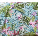 Catherine Lansfield Tropical Leaf Duvet Set - Green