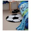 Catherine Lansfield It's a Goal Rug - Multi - 66 x 66cm