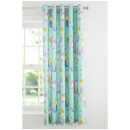 Catherine Lansfield Mermaid Curtains - Blue - 168 x 183cm