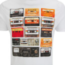 Brave Soul Men's Decade Cassette T-Shirt - White