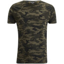 Brave Soul Men's Disguise Camo T-Shirt - Khaki