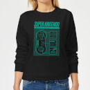 Nintendo Super Nintendo Entertainment System Women's Sweatshirt - Black