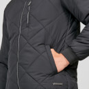 Pro-Tech Quilted Bomber Jacket - Black - XS
